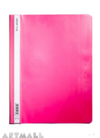 5718- Report file A4, pink color
