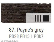 Oil for ART, Payne's grey 20 ml.