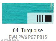 Oil for ART, Turquoise 60 ml.