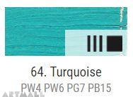 Oil for ART, Turquoise 60 ml.