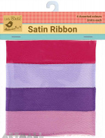 Satin Ribbons 1inch Girly 8mtr
