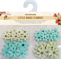 Jewelled Florettes Facific Blue 50Pc