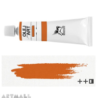 Oil for ART,12. Cadmium yellow orange 60 ml.
