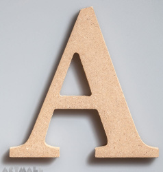 """Wooden Letter """"A"""""""