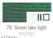 Oil for ART, Green lake light 60 ml.