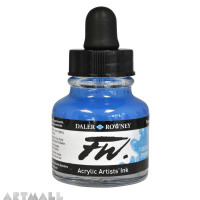29.5 ML FW INK FLUORESCENT BLUE