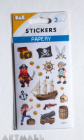 "Stickers ""Pirate"""