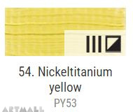 Oil for ART, Nickel-titanium yellow 60 ml.