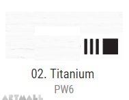 Oil for ART, Titanium white 140 ml