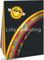 "Colored Paper folder ""Friendly Colors"""