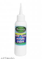 Free Flow Acrylic 120 ml White