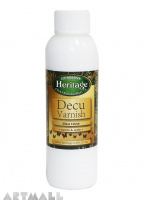 Decu Varnish, Gloss Finish 120 ml