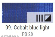 EXTRA Oil paint , Cobalt blue light, 20 ml