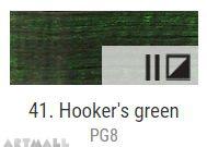 Oil for ART, Hookers green 60 ml.