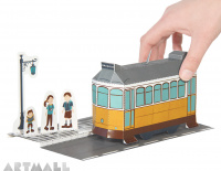 Tram Paper Toy