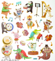 "Stickers ""Orchestra"""