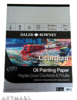 Daler-Rowney's Georgian Oil Painting Pad 12 sheets, 250g/m2, 406x305mm