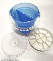 Plastic Brush Washer.