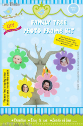 Family Tree Photo Frame Kit