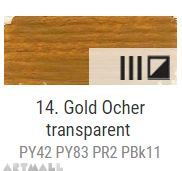 Oil for ART, Gold ochre 60 ml.