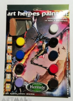 Art Heroes Paint Kit, Dragon