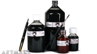Indian Ink coloured waterproof 100 ml, Titanium White