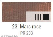 EXTRA Oil paint , Mars rose, 20 ml