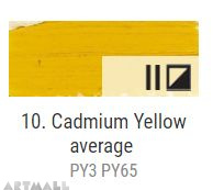 Oil for ART, Cadmium yellow middle 20 ml.