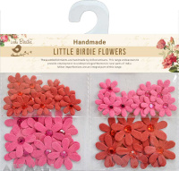Jewelled Florettes Cerise Pink 50Pc