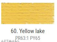 Oil for ART, Yellow lake 20 ml.