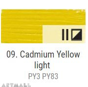 Oil for ART, Cadmium yellow light 20 ml.