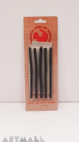 Set of drawing coal in blister, 5pcs