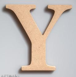 """Wooden Letter """"Y"""""""