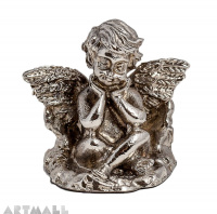 Pewter angel pen-rest