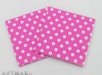 "Paper napkins for decoupage ""Pink"""