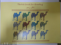 "Albums clip-bound for drawing ""Camel"", 12 sheets /40/(NORMAL STYLE)"