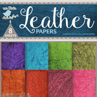 Handmade Leather Paper 12x12inch 200gsm, 8 pcs