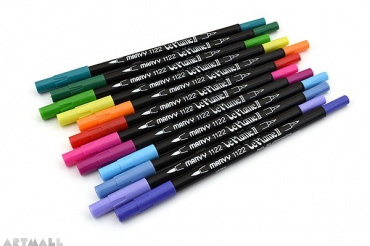 Le Plume II Double-Sided Watercolor Marker, №55 Iris Purple