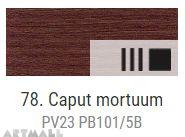 Oil for ART,78.Caput mortuum 60 ml.