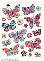"Stickers ""Butterfly"""