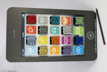 Display 180 pencils Swarovski elements