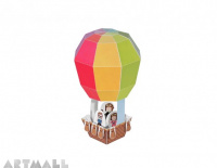 Hot Air Balloon Paper Toy
