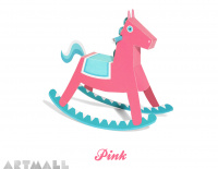 Rocking Horse Paper Toy
