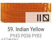 Oil for ART, Indian yellow 20 ml.