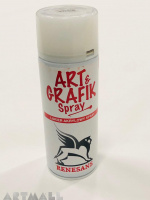 Final acrylic varnish - very flexible for securing works made with water-based paints 400 ml