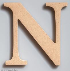 """Wooden Letter """"N"""""""