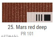 EXTRA Oil paint , Mars red deep, 20 ml