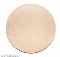 Wooden MDF Circle Shape