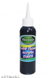 Free Flow Acrylic 120 ml Black