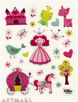 "Stickers ""Princess"""